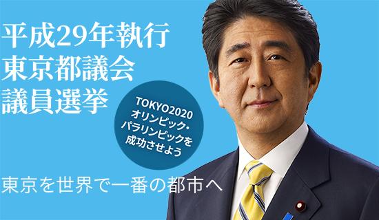 平成29年執行 東京都議会議員選挙